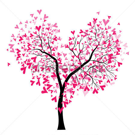 árvore-cor-de-rosa-Vetor-23134958