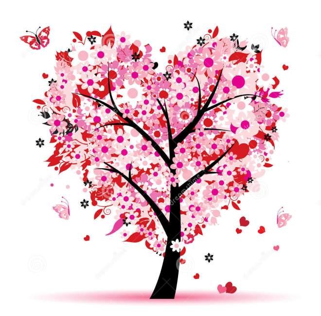 valentine-árvore-amor-folha-Coração-12840583